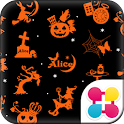 Alice in Halloween Landきせかえ icon