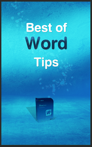 Best of Word Tips