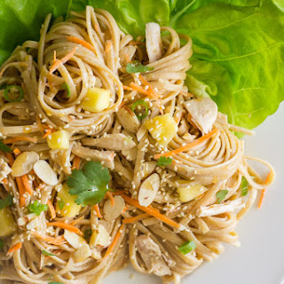 Asian Chicken And Sesame Noodle Salad