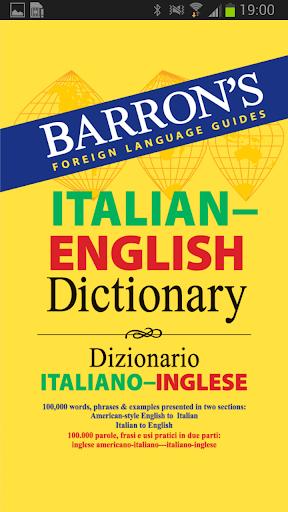 Barron's Italian-English