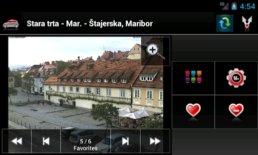 Kamere Slovenija - screenshot thumbnail