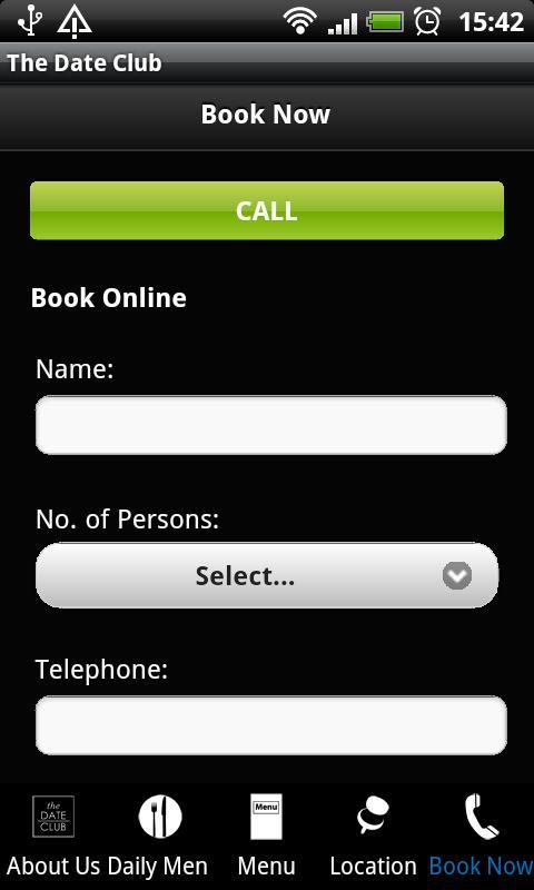 The Date Club- screenshot