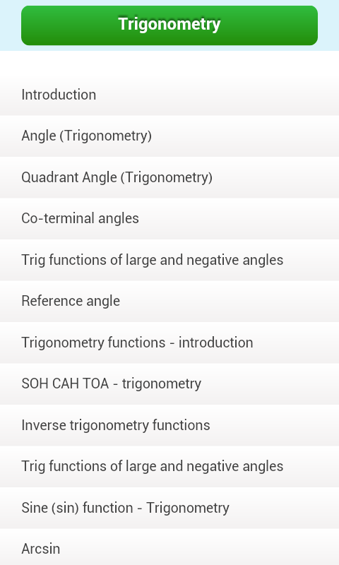 trigonometry mathematics android apps on google play trigonometry mathematics screenshot