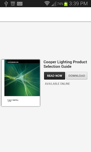 Cooper Lighting vPSG