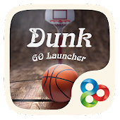 Dunk GO Launcher Theme