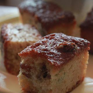 Rum Raisin Cake.