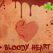 Bloody Heart Theme GO Launcher