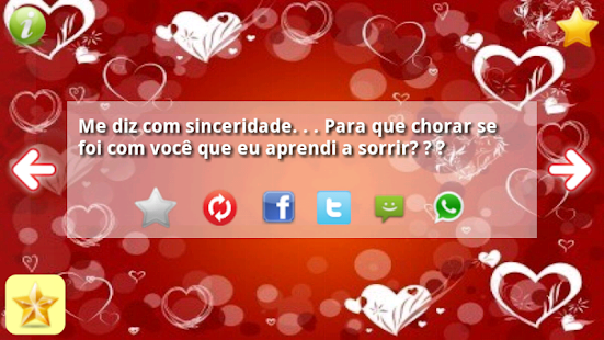 Frases Românticas Amor SMS - screenshot thumbnail