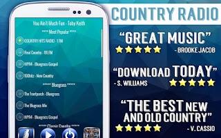 Screenshot of Country Radio