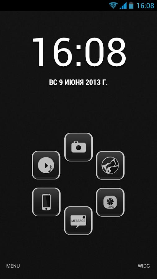 GSLTHEME Elegant SmartLauncher - screenshot