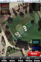 Screenshot of Free Golf GPS for Android 2.3