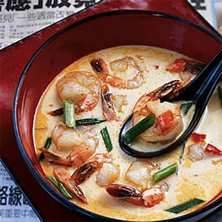 Shrimp Coconut Soup.