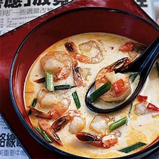 Shrimp Coconut Soup.