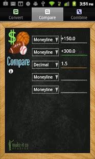 Sports Betting Odds Calculator- screenshot thumbnail