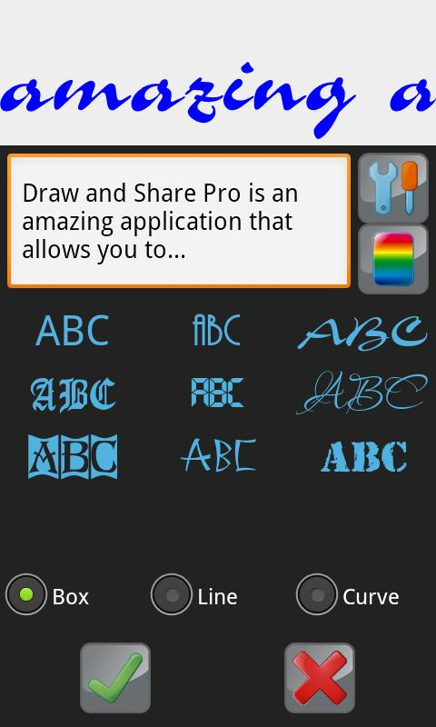 Draw and Share (painting app)- screenshot