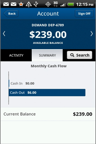 Arundel Federal Mobile Banking - screenshot