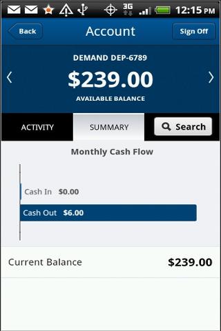 Arundel Federal Mobile Banking- screenshot