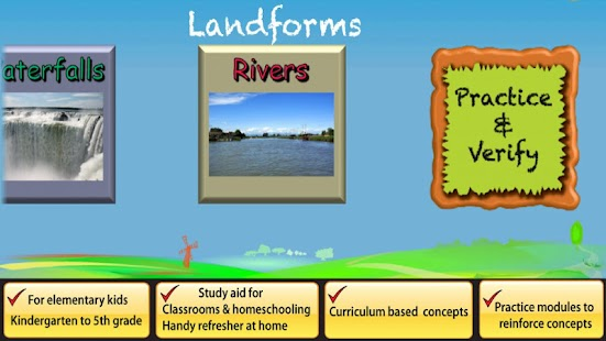 Landforms- screenshot thumbnail