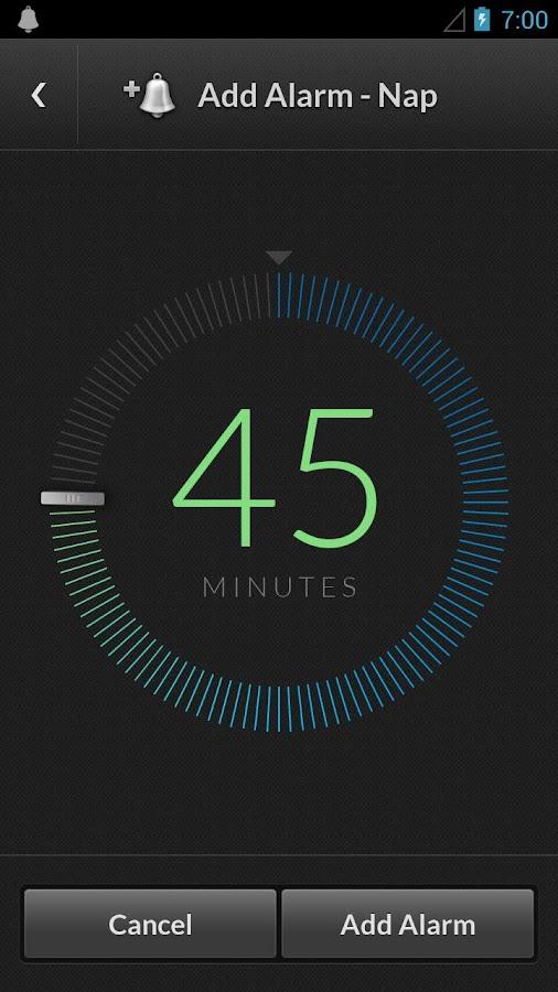 Alarm Clock by doubleTwist- screenshot