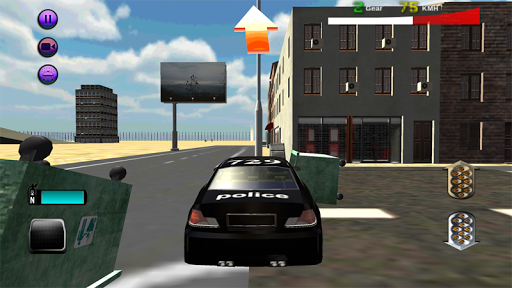 魯莽的警察駕駛