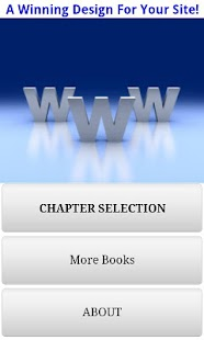 Audiobook - Web Design- screenshot thumbnail