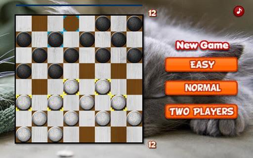 Supreme Checkers Game