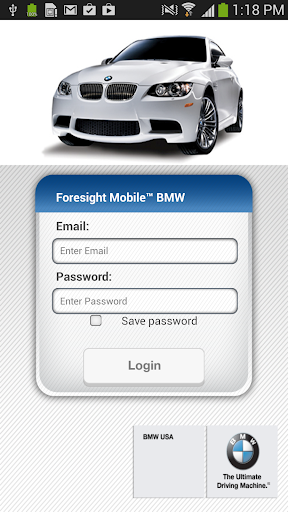 Foresight Mobile™ BMW