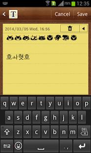 Korean Emoji Keyboard - náhled