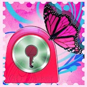 GO Locker Theme butterflies