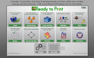 Screenshot of Ready to Print