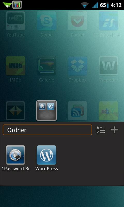 MIUI X2 Go/Apex/ADW Theme PRO- screenshot