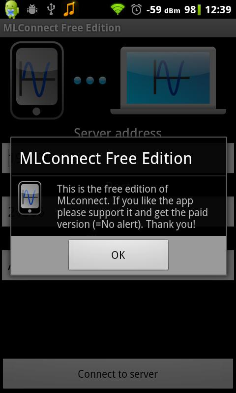MLConnect Free Edition- screenshot