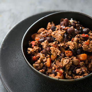 Black Bean Turkey Chili.