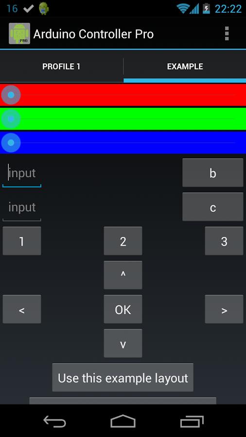 Arduino Controller Pro (Free) - screenshot