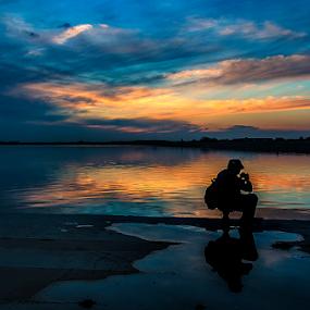 by Dana Corina Popescu - Landscapes Sunsets & Sunrises ( silhouette )