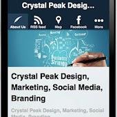 Crystal Peak Design App