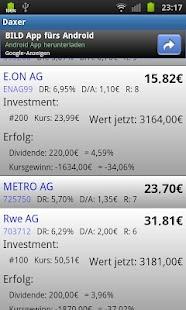 Daxer - Dividende Low Five- screenshot thumbnail