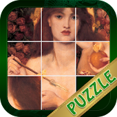Classical Nude Sliding Puzzle