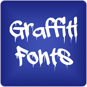 Graffiti Fonts for FlipFont 個人化 LOGO-玩APPs