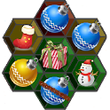 Christmas Hexagon Match 3 icon
