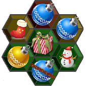 Christmas Hexagon Match 3