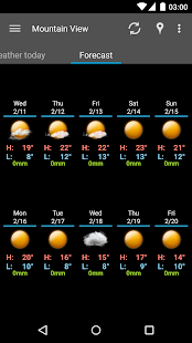 AmberHome Weather Plus - screenshot thumbnail