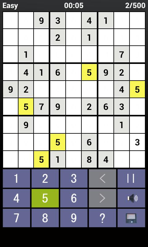 Sudoku Sensei - screenshot