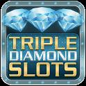 Triple Diamond Slot Machine icon