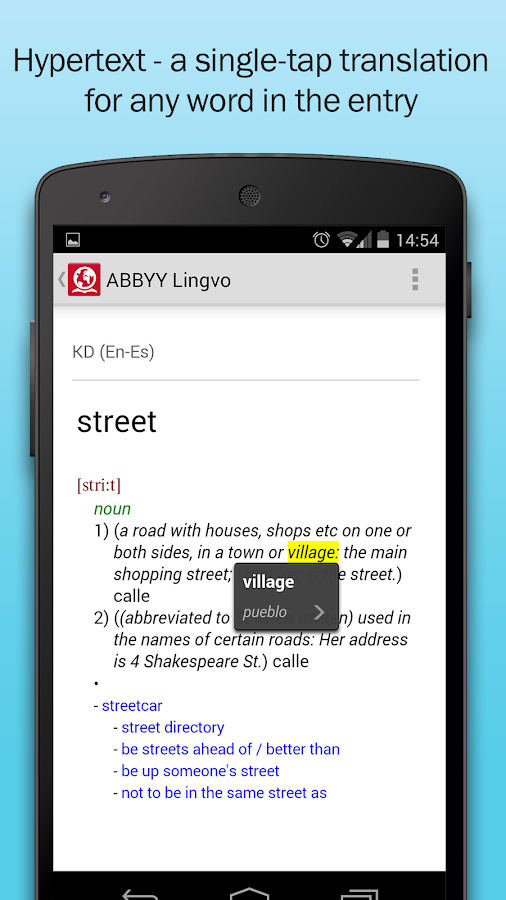 ABBYY Lingvo Dictionaries- screenshot