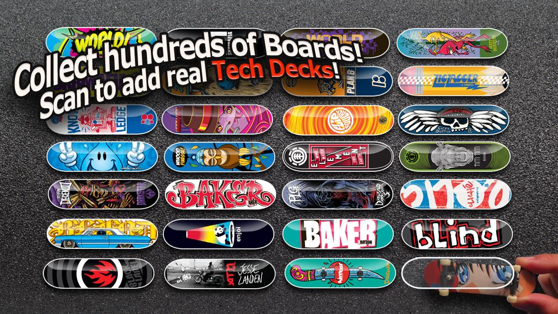 Tech Deck Skateboarding - screenshot