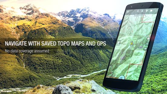 BackCountry Navigator TOPO GPS - screenshot thumbnail