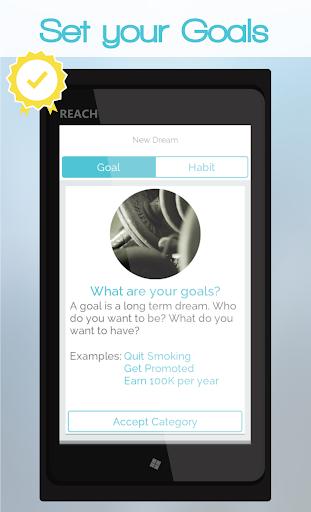Reach Your Goal Goal Tracker
