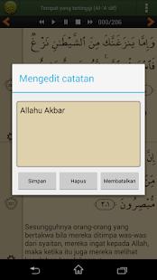 Al'Quran Bahasa Indonesia for PC-Windows 7,8,10 and Mac apk screenshot 7