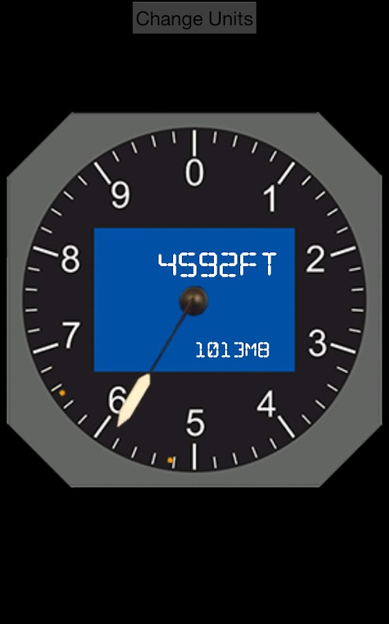 Digital Altimeter- screenshot